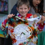 Tie Dye at Camp Sealth