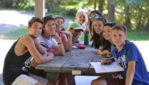 Teens at Table