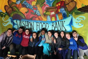 Teen Spring Break Service Project at Vashon Food Bank