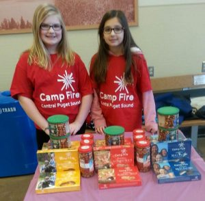 Camp Fire Candy Sellers