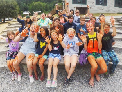 Color-Wars at Camp Sealth