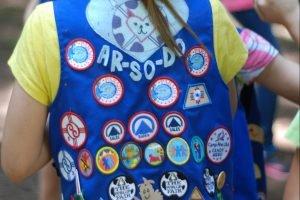 Camp Fire Vest with Emblems