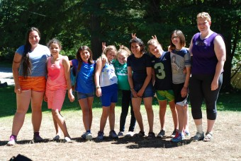 Staff with campers