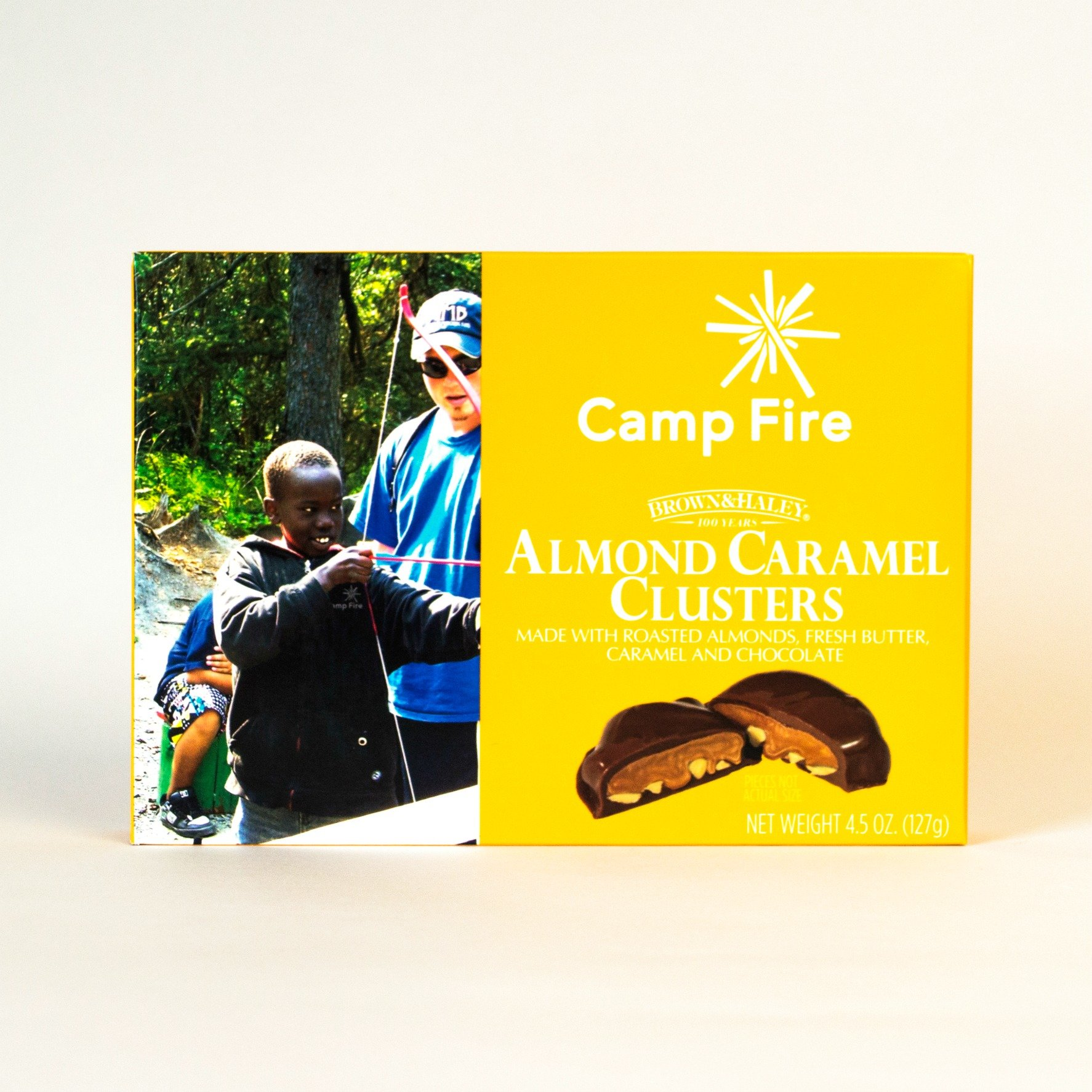 Almond Caramel Clusters