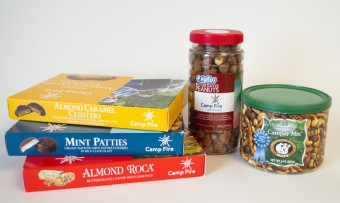 Camp Fire Candy Products