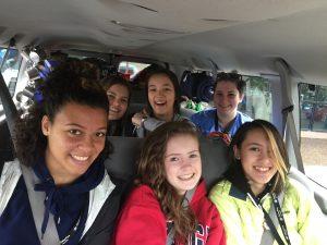Camp Fire Spring Break Service Trips
