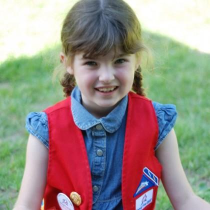 Group Program Girl in Vest