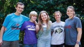 camp fire teens