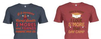 Campership Shirts on BonfireFunds