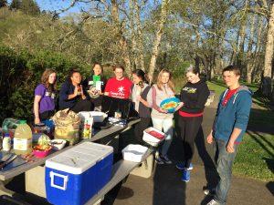 Teens on Spring Break Road Trip