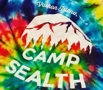 Camp Sealth Tie-Dye Shirt