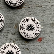 Small Camp Sealth buttons