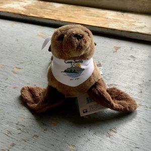 Fur seal stuffed animal