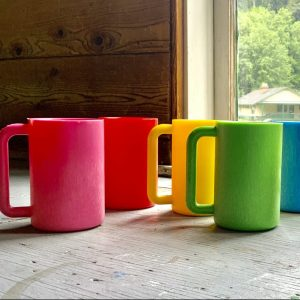 Multiple ugly mugz of different colors
