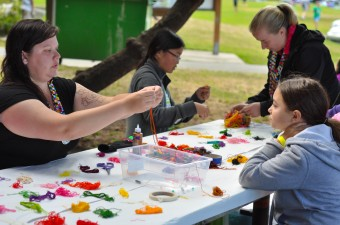 Arts and crafts at carkeek park