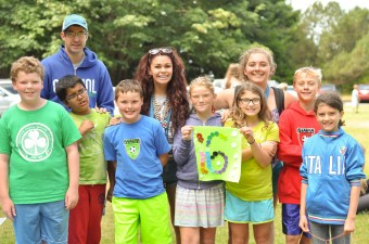 Group at Carkeek Day Camp
