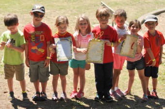 Campers at Carkeek Day Camp