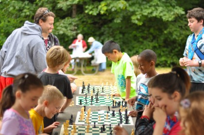 Chess at Day Camp