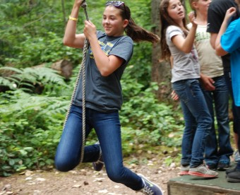 Challenge Course Environmental Education