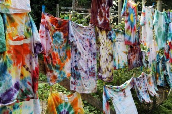 Finished Tie Dye Projects