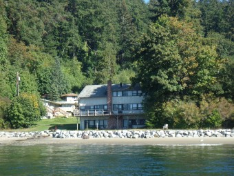 View of Camp Sealth from the water