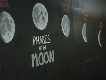 Phases of the moon astronomy lesson