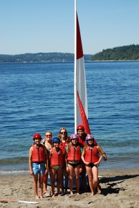 Campers ready to going sailing kiwanis