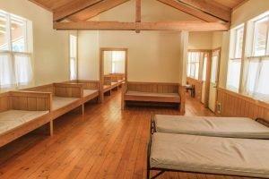 Inside Virginia Lodge Cabin